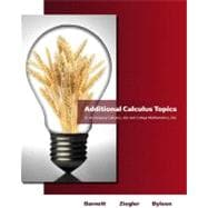 Additional Calculus Topics for Calculus for Business, Economics, Life Sciences &Social Sciences
