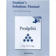 Student Solutions Manual for Prealgebra (standalone)