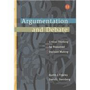 Argumentation and Debate (with InfoTrac)