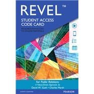 REVEL for Public Relations A Values Driven Approach -- Access Card