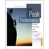 Peak Performance : Success in College and Beyond