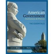 American Government, Essentials Edition
