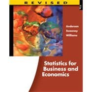 Statistics for Business and Economics, Revised, 11th Edition