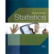 Statistics for Management and Economics, 9th Edition