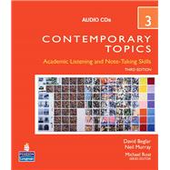 Contemporary Topics 3 Audio CDs
