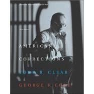 American Corrections (with CD-ROM and InfoTrac)