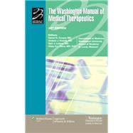 The Washington Manual of Medical Therapeutics, 32nd Edition