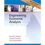 Engineering Economic Analysis; Enhanced Tenth Edition