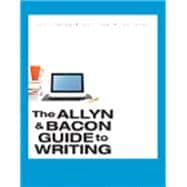 The Allyn & Bacon Guide to Writing & SA ACC 12 Month Package