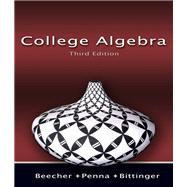 College Algebra Value Package (includes Math Study Skills)