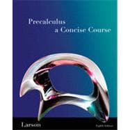 Precalculus: A Concise Course, 2nd Edition