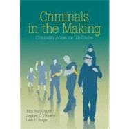 Criminals in the Making : Criminality Across the Life Course