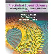 Preclinical Speech Science: Anatomy, Physiology, Acoustics, and Perception