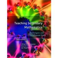 Teaching Secondary Mathematics : Techniques and Enrichment Units