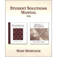 Student Solutions Manual for Devore/peck's Statistics