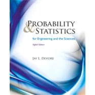 Probability and Statistics for Engineering and the Sciences, 8th Edition