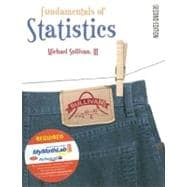Fundamentals of Statistics w/MML and MyStatsLab Package