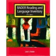 Reading & Reader Passages &  Reading & Language Inventory Pkg.