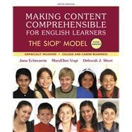 Making Content Comprehensible for English Learners The SIOP Model