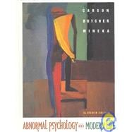 Supplemental Abnormal Psychology and Modern Life