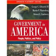 Government in America : People, Politics, and Policy, Election Update, with LP.com Version 2.0