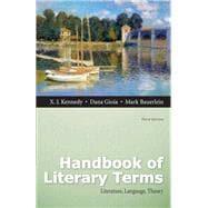 Handbook of Literary Terms Literature, Language, Theory Plus MyLiteratureLab -- Access Card Package