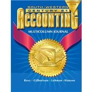 Century 21 Multicolumn Journal Accounting Anniversary Edition, Introductory Course Chapters 1-17, 7e