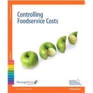 ManageFirst Controlling FoodService Costs with Answer Sheet