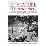 Literature and the Environment A Reader on Nature and Culture Plus MyLiteratureLab -- Access Card Package