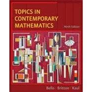 Topics in Contemporary Mathematics, 9th Edition