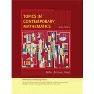 Topics in Contemporary Mathematics, Enhanced Edition, 9th Edition