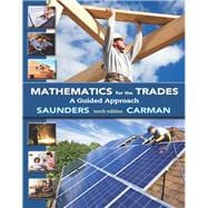 Mathematics for the Trades A Guided Approach Plus MyMathLab Access Card