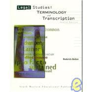 Legal Studies : Terminology and Transcription