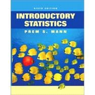 Introductory Statistics, 6th Edition