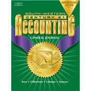 Century 21 General Journal Accounting Anniversary Edition, Introductory Course Chapters 1-17