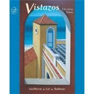 Vistazos:  Un curso breve   Student Edition with Online Learning Center Bind-in Card
