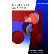 Numerical Analysis (6th Ed)