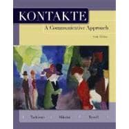 Kontakte A Communicative Approach (Student Edition)