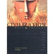 Civilization Past and Present Vol 2 : From 1300