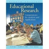 Educational Research : Competencies for Analysis and Applications