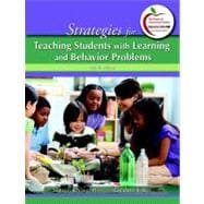 Strategies for Teaching Students with Learning and Behavior Problems Plus MyEducationLab with Pearson eText -- Access Card Package
