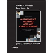 NATEF Correlated Task Sheets for Automotive Heating and Air Conditioning 9780133515350R