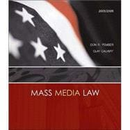 Mass Media Law, 2005/2006 Edition with PowerWeb and Free Student CD-ROM