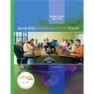 MyBCommLab with Pearson Etext - For Business Communication Today
