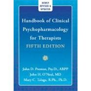 Handbook of Clinical Psychopharmacology for Thearpists