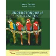 Understandable Statistics, Enhanced Edition