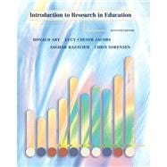 Introduction to Research in Education (with InfoTrac)