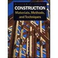 Construction Methods, Materials, and Techniques