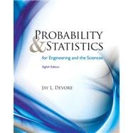 Student Solutions Manual for Devore's Probability and Statistics for Engineering and Science, 8th