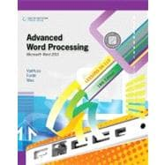 Advanced Word Processing, Lessons 56-110 Microsoft Word 2010